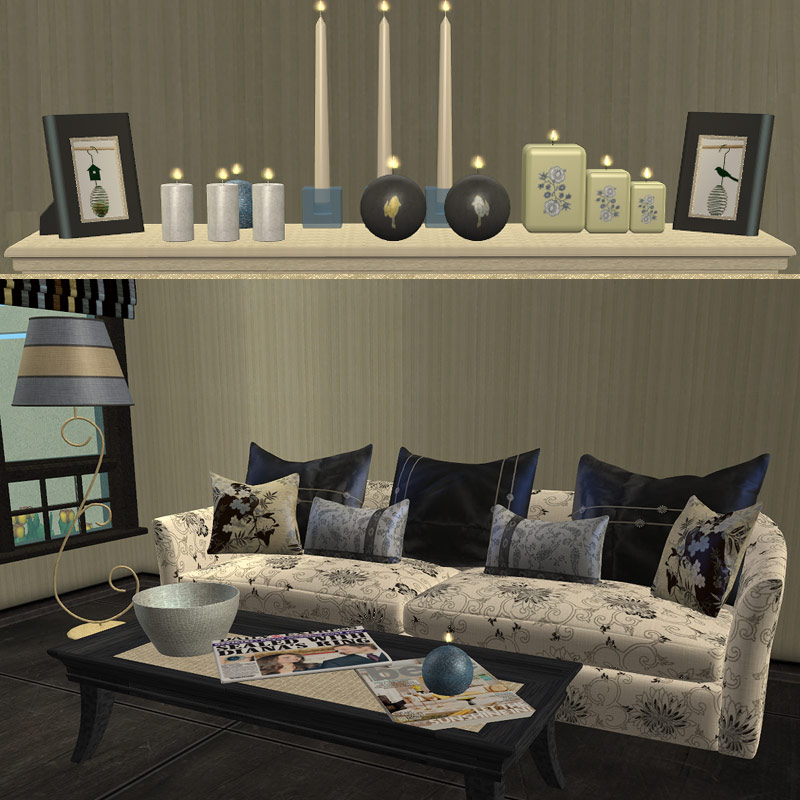 much for sims 2 living room set schemes are