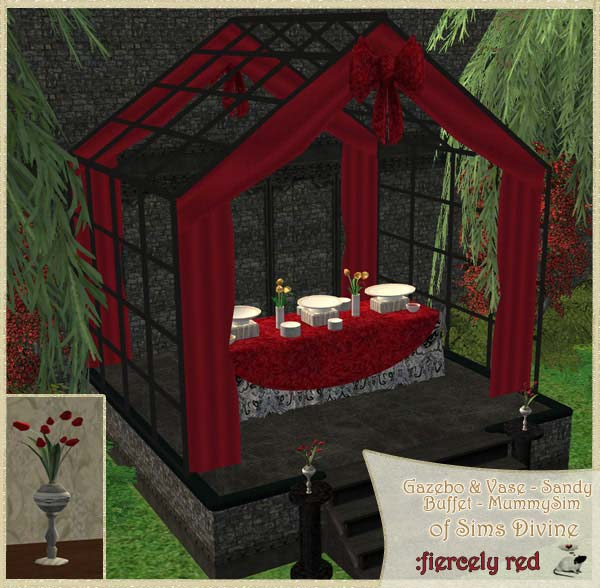 Wedding Altar Sims: Loverat.net Sims2 Custom Recolours Miscellaneous