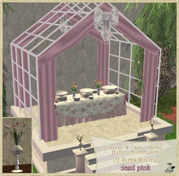 Wedding Altar Sims 2: Loverat.net Sims2 Custom Recolours Miscellaneous